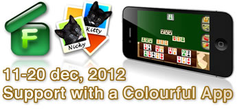 Support the cause by buying a Colourful Apps